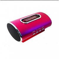 """Компактная портативная Радио колонка """"WSTER""""WS-358 Цифровой дисплей линейный аудио-вход microSD CardReader USB"""