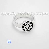 Алатырь серебряное кольцо оберег