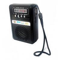 """WSTER"" WS-330 Компактная портативная колонка USB microSD CardReader радио+ЦИФРОВОЙ ДИСПЛЕЙ"