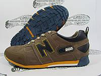 Кроссовки мужские  Active Sport коричневые, резиновый носок