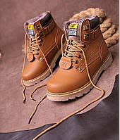 Мужские/женские зимние ботинки CAT Caterpillar НА МЕХУ (CP_01)