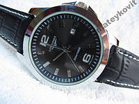 Мужские кварцевые часы Longines календарь