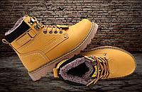 Мужские/женские зимние ботинки CAT Caterpillar НА МЕХУ (CP_02)