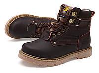 Мужские/женские зимние ботинки CAT Caterpillar НА МЕХУ (CP_03)