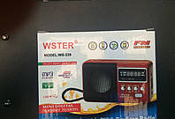 Мини Приемник WS-239 USB SD MP3 Цифровой Радио-приемник сканер )Цифровой дисплей литиевая батарея