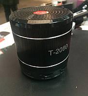 Портативная акустическая система Радиоприемник колонка T-2080 линейный аудио-вход Аудио вход AUX Портативная