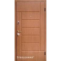 Двери входные уличные с МДФ Steelguard™ модель Квадра 148