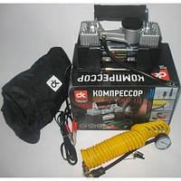 Компрессор, 12V, 10Атм, 60л/мин, 2-х поршневый, клеммы, шланг 5м. <ДК> (DK31-112) 4905791907