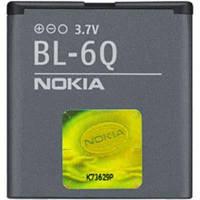 Аккумуляторная батарея АКБ Nokia BL-6Q неоригинальная