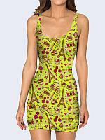 Женское 3D  Платье Подарки из Парижа