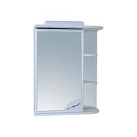 Шкаф зеркальный для ванной 55-01-3 левый + свет