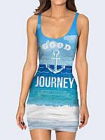 Женское 3D  Платье Хорошее путешествие