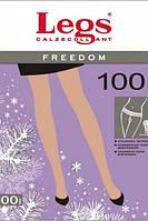 Колготки из микрофибры с заниженной талией Freedom 100 ден, Legs