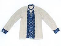 Детская вязаная вышиванка для мальчика | Дитяча в'язана вишиванка для хлопчика
