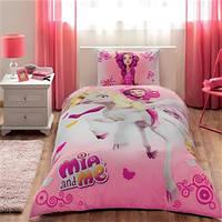 TAC Детское постельное бельё Disney Mia And Me (Миа енд Ми)