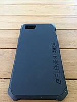 Чехол-накладка Element Case Solace для iPhone 5/5S black