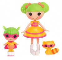 Набор с куклой MINILALALOOPSY серии  Сестрички ДИНА ВЕЛИКОЛЕПНАЯ И КРОШКА ДИНА