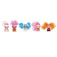 Набор с куклами КРОШКАМИ  LALALOOPSY серии  Кудряшки-симпатяшки  ЛУЧШИЕ ПОДРУЖКИ  5 кукол