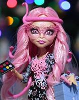 Кукла Monster High Вайперин Горгон (Viperine Gorgon) Страх, Камера, Мотор! Монстер Хай Школа монстров