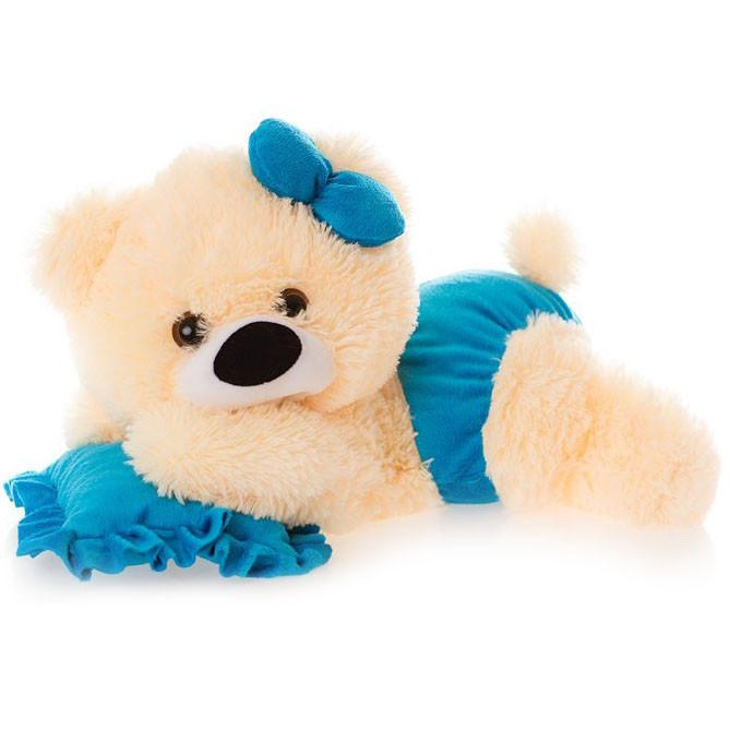Мягкая игрушка лежачий медведь 60 см