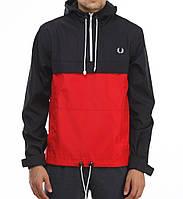 Мужская куртка анорак FP красно-черный