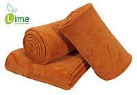 Плед флисовый, Bellis Orange 140x200 см