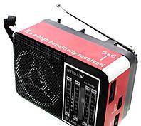 Радиоприемник колонка NEEKA NK202RB Портативная колонка Аудио выход (наушники) Телескопическая антенна Подарок