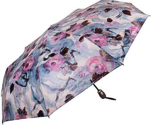 Выразительный женский зонт ZEST( ЗЕСТ) Z23992-1 Автомат + Антиветер