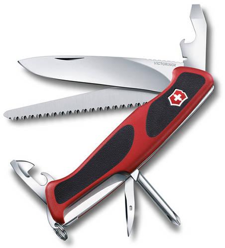 Карманный складной нож Victorinox RangerGrip 56 09663.C красный