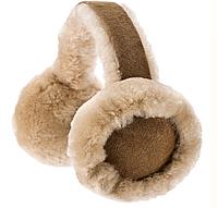 Меховые шапка-наушники