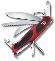 Функциональный складной нож Victorinox RangerGrip 58, 09683.MC красный