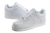Кроссовки белые женские Nike Air Force Low оригинальные найк аир форс