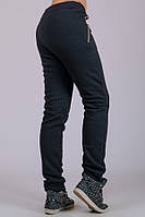 Женские утепленные брюки Город (черные)