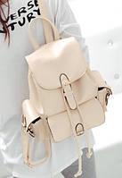 Сумка-рюкзак, светло-бежевый