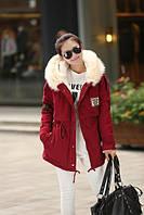 Куртка женская, утеплена искусственным мехом