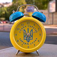 "Будильник, часы ""Патриот Украины"" желтый"