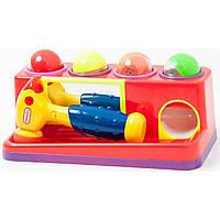 Развивающая игрушка Веселый молоточек, 599