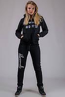 Спортивный костюм женский Аберкромби (черный)