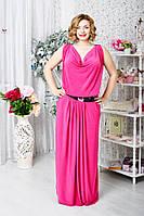 Платье с ажурной спинкой