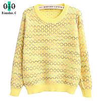 Красивый женский свитер, выбор расцветки