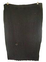 Женская юбка трикотаж батал 70см