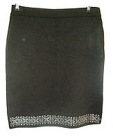Женская юбка трикотаж полубатал 50см