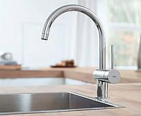Смеситель однорычажный  для кухонной мойки GROHE MINTA 32917000,кран на кухню