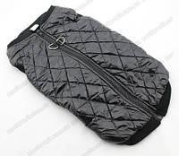 Куртка-жилет черный для крупной собаки