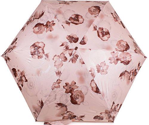 Компактный женский зонт ZEST( ЗЕСТ) Z25562-1 (облегченный, Антиветер)