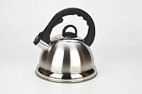Mayer&Boch. Чайник металлический со свистком 2,8л  MB-21636