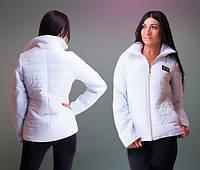 Женская короткая демисезонная куртка, два цвета, 42, 44 рр