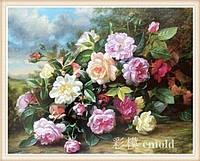 """Алмазная мозаика набор """"Букет цветов на фоне неба"""""""