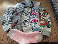 Теплые шерстяные носки ангора женские