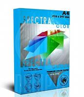 Бумага ксероксная цветная А4/80 Spectra пастельная синяя Blue 180 500 листов